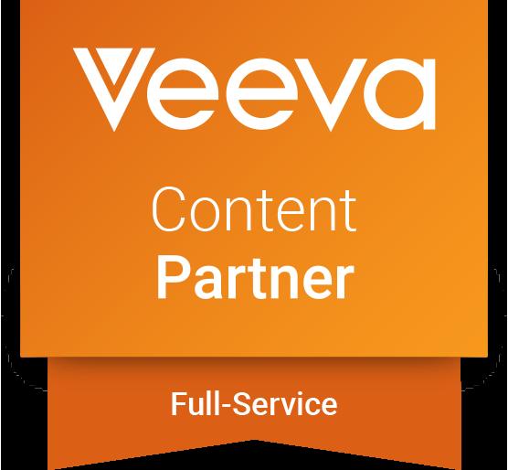 Veeva Content Partner - Full service